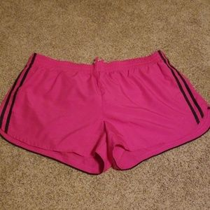 Cute pink athletic shorts!
